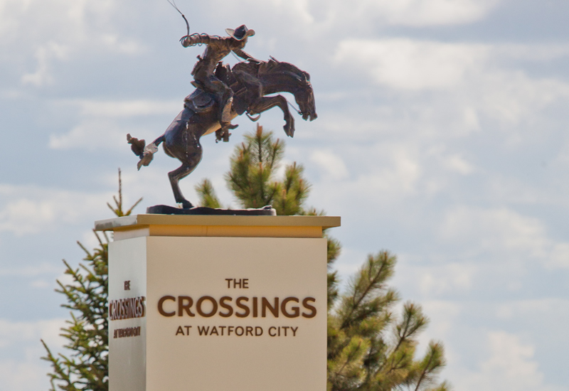 Watford City, The Crossings